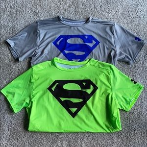 Under Armour Superman Compression Shirts